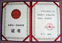 世界经理人成就奖证书
